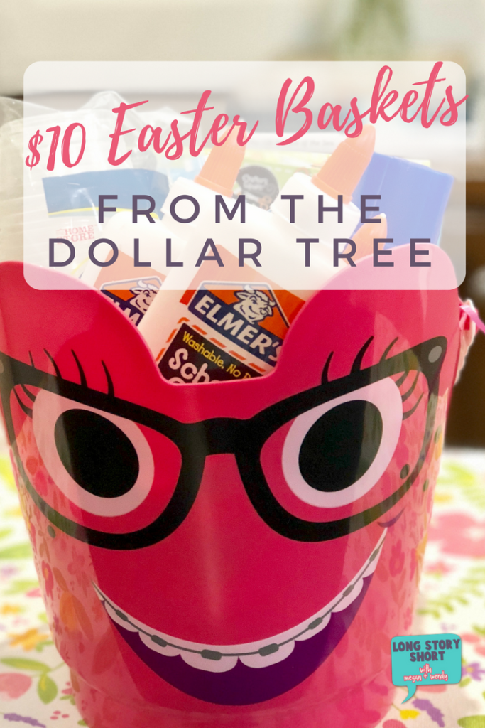 $10 Easter Baskets from the Dollar Tree! We've put together a couple of fun Easter Baskets that are budget friendly featuring items you can find in your local Dollar Tree! We've got ideas for tweens and people who love baking and of course they're all as cute as can be!