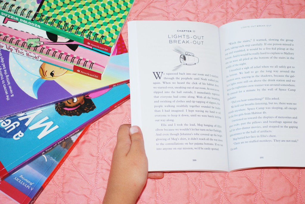 American Girl Summer Reading Guide - A collection of books full of adventure and activities to keep kids entertained this summer.