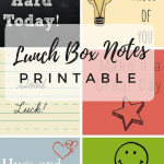 Lunch Box Notes Printable