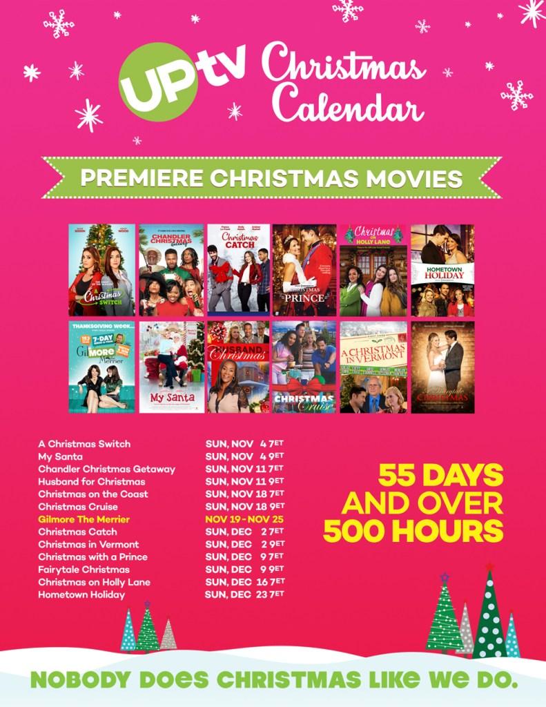 UPtv Christmas Schedule 2018
