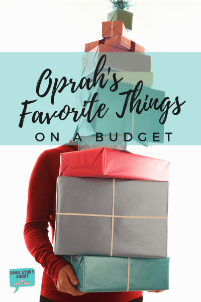 Look no further for Oprah's Favorite Things 2018 but cheaper! We're sharing our picks for gifts equally as great to Oprah's but 100% more affordable! #GiftGuide #TargetStyle #Oprah #FavoriteThings