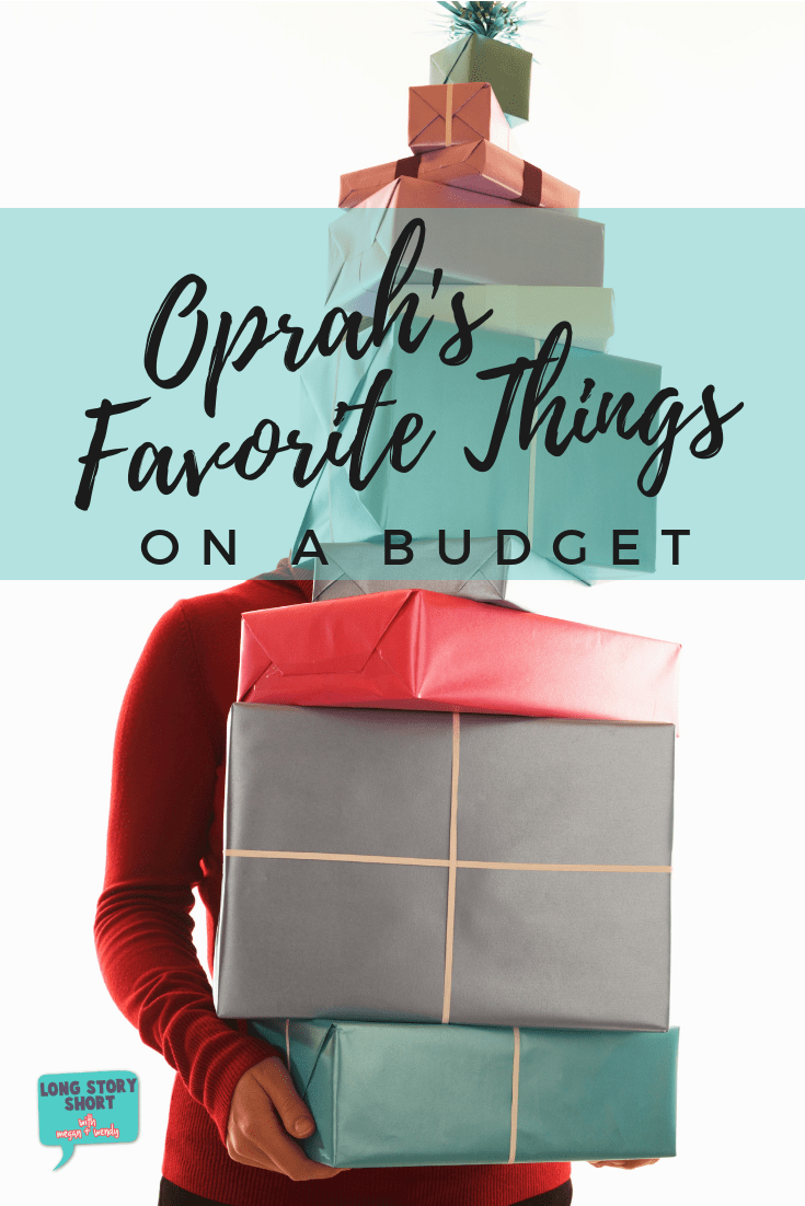 Look no further for Oprah's Favorite Things 2018 but cheaper! We're sharing our picks for gifts equally as great to Oprah's but 100% more affordable! #Oprah #FavoriteThings #Christmas #GiftGuide