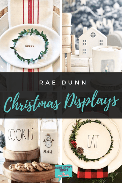 Favorite Rae Dunn Christmas Displays