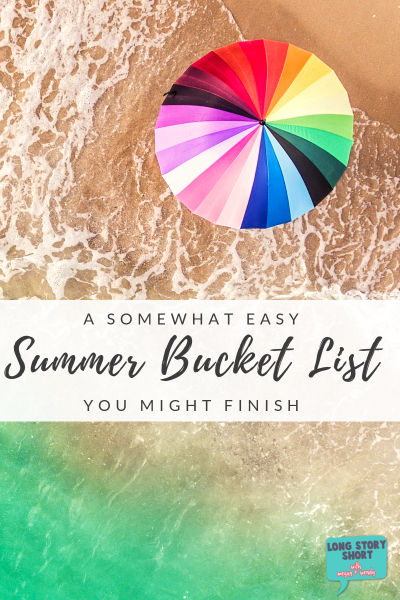 Need ideas on what to do this summer? We've put together an easy list of summer ideas you'll love. #bucketlist #summer #summerideas