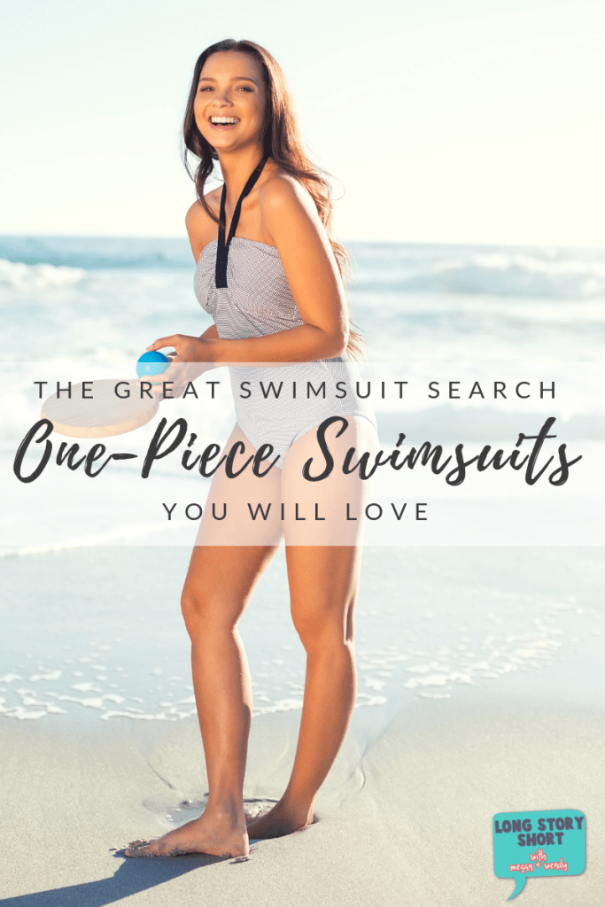 For this year's great swimsuit search we cast a wide net to find the best one-piece swimsuits available from retailers like Target, Amazon and Lands' End.