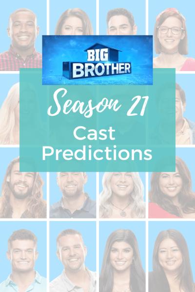 Big Brother 21 Cast Predictions