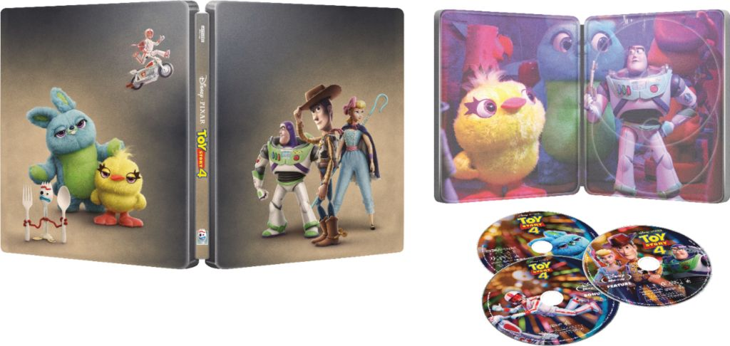 Toy Story 4 Steel Book Blu-Ray