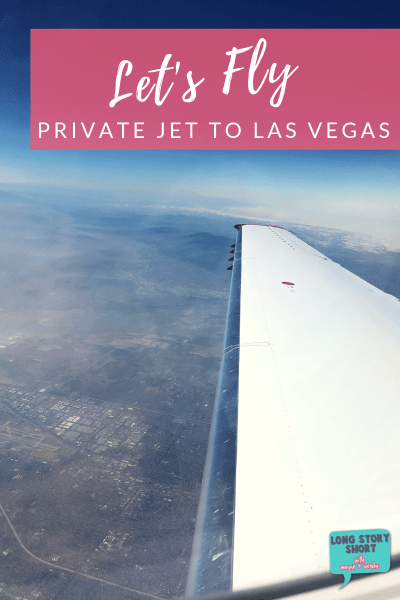 Running away to Las Vegas for the weekend? Why not fly a private jet to Vegas? Ok, not totally private but JetSuiteX is pretty dang close. | #JetSuiteX #Travel #LasVegas