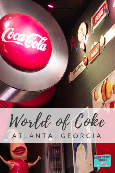 World of Coke, Atlanta Georgia - If you're looking for things to do in Atlanta, the World of Coke is not to be missed! You'll learn all about the history of Coca Cola, take a peek into the Coca Cola bottle process and get a chance to taste Coke from around the world!