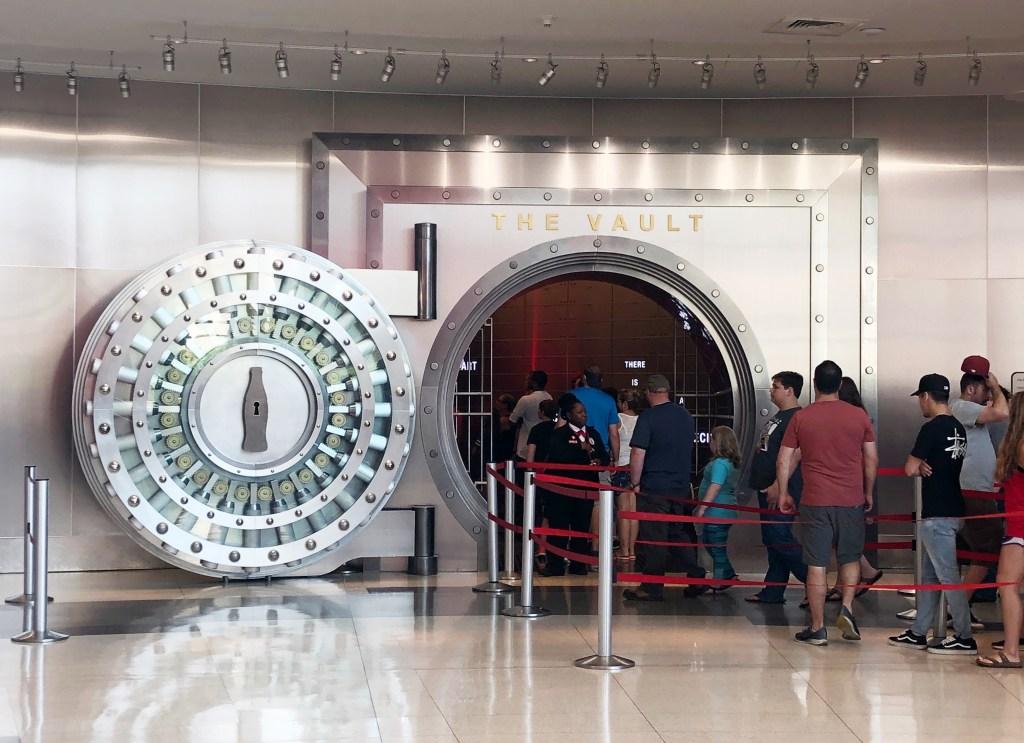 World of Coke, Atlanta Georgia - The Vault