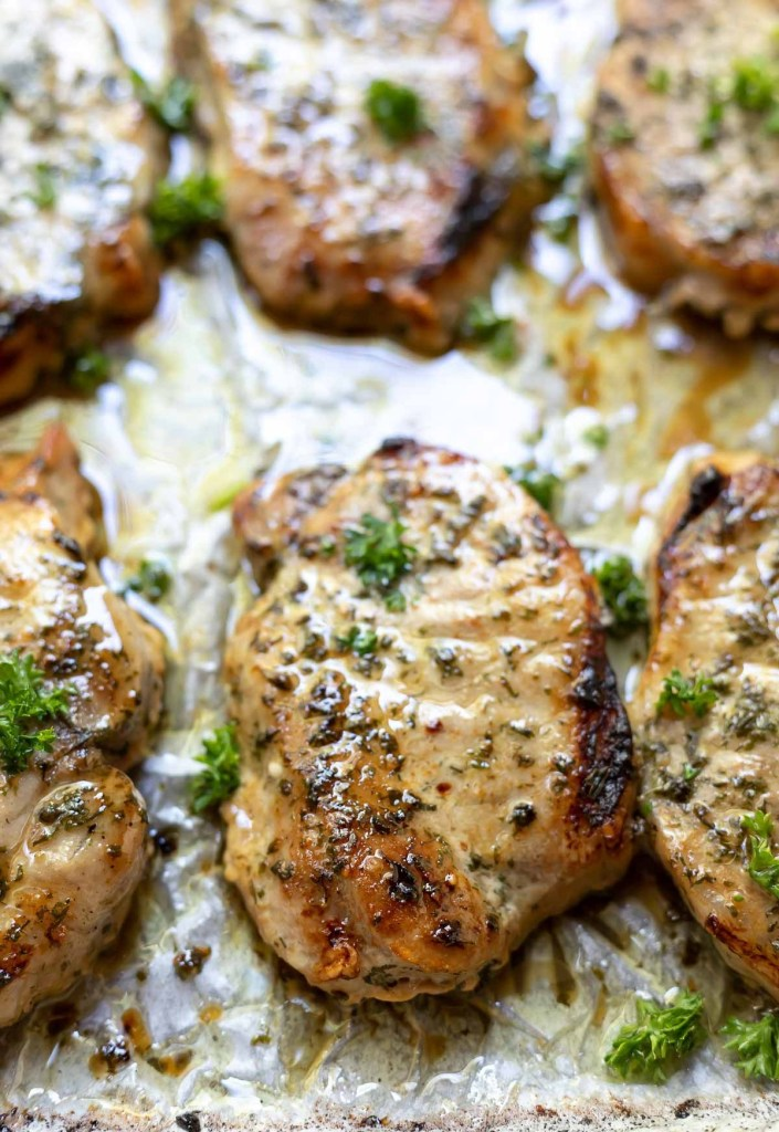 Baked Ranch Pork Chops