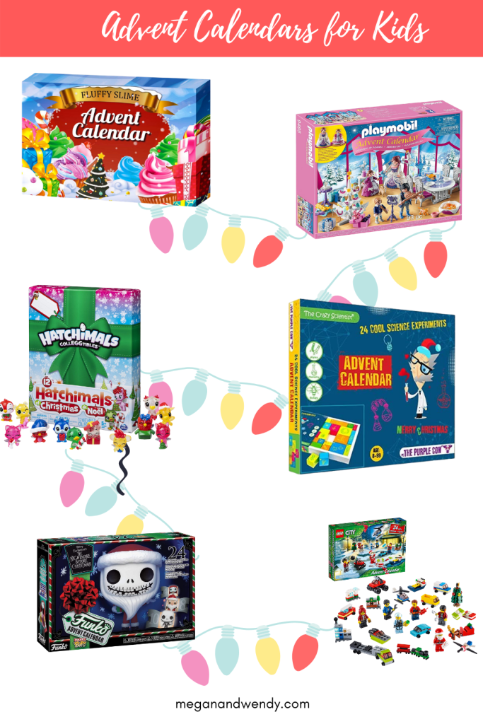 Advent Calendars for Kids - We've found the advent calendars your kids will be begging for. From the annual LEGO advent calendars, to FunkoPop calendars, science calendars, and collectibles, we've found them all!