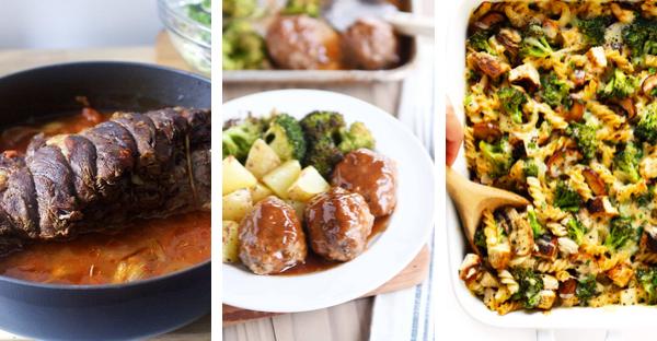October Meal Plan Week 4