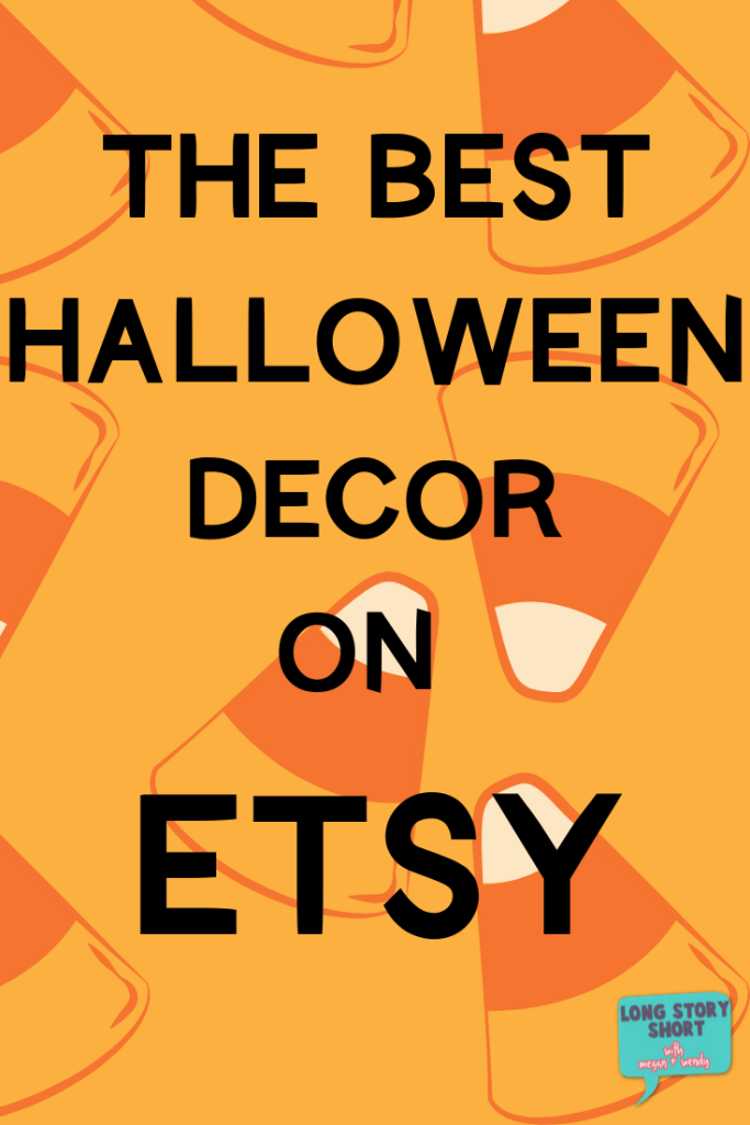 The Best Halloween Decor on Etsy - Look no further for new Halloween decor to get you in a spooky mood. We've found some absolutely adorable handmade decorations available exclusively on Etsy.