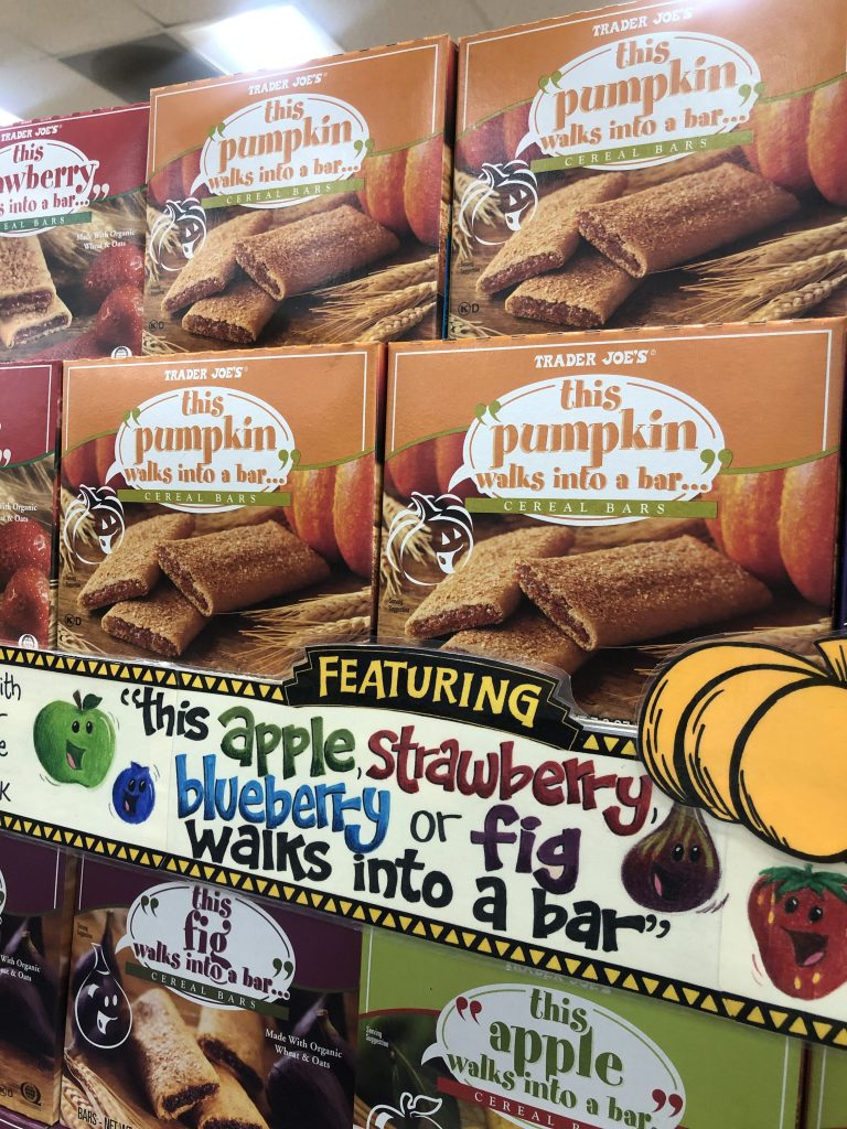 Pumpkin Cereal Bars from Trader Joe's