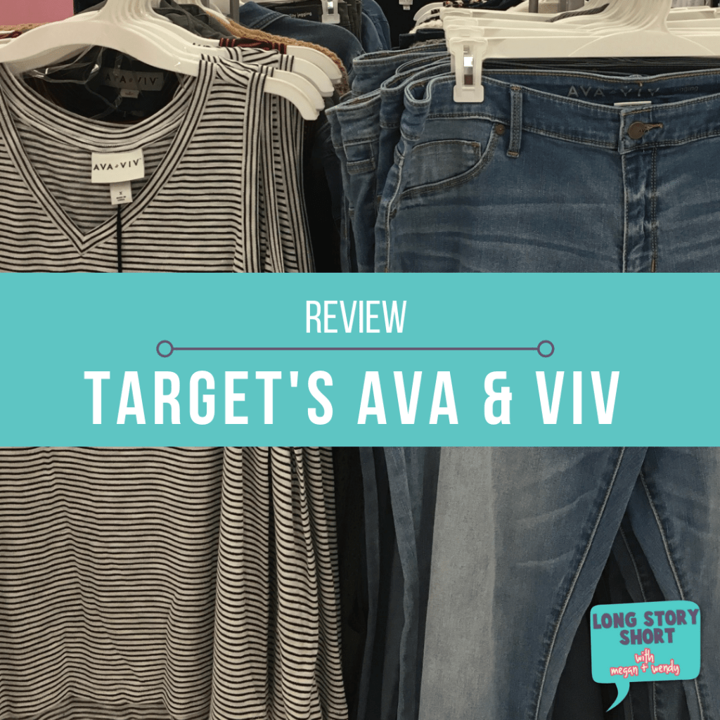 You deserve to feel pretty, put together and comfortable in what you are wearing and whatever size. Here's what I like from Ava and Viv. | #Target #AvaandViv #PlusSize #RealSize