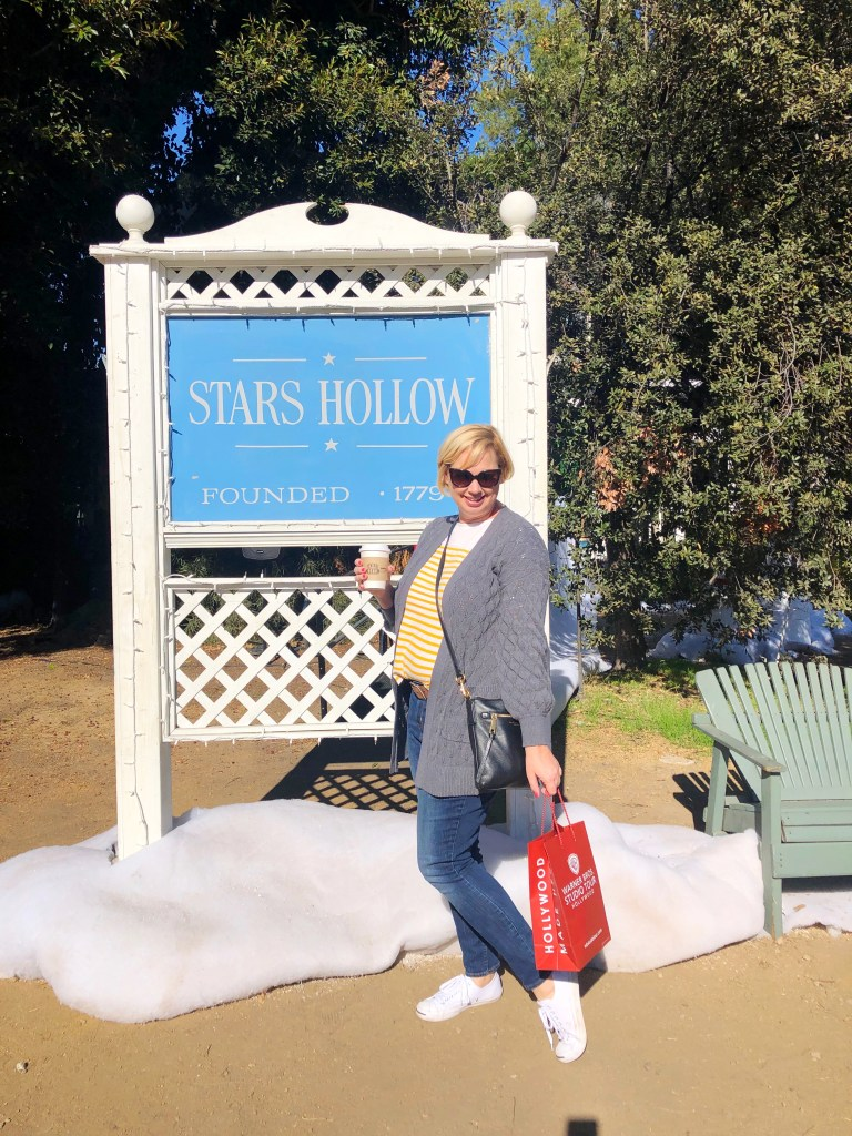 Warner Bros. Studio Tour - Gilmore Girls Holiday experience - lunch at Lorelai's house