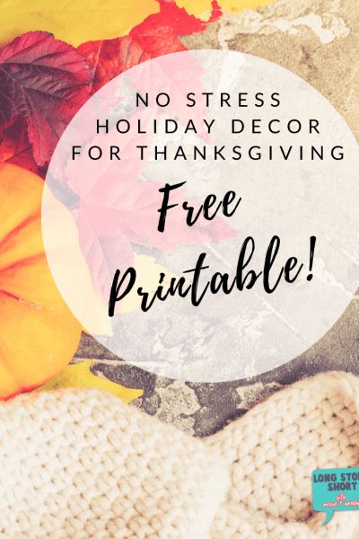 Free Thanksgiving Printable - Spruce up your Thanksgiving decor with this Give Thanks free printable! Would make a beautiful addition to any Thanksgiving tablescape! | #Thanksgiving #FreePrintable