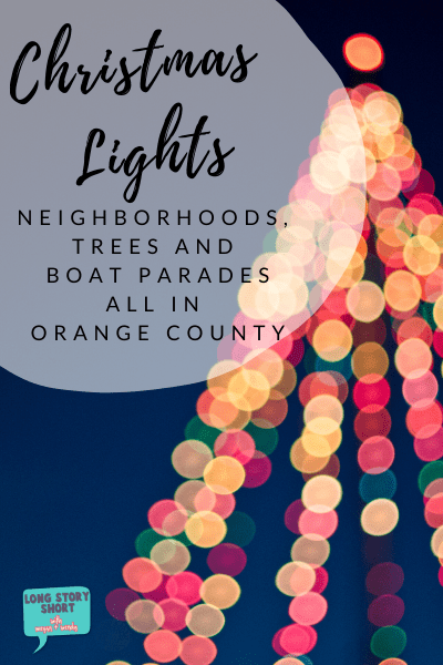 Looking for the best neighborhoods, trees or boat parades to visit this holiday? We're sharing a few of our favorite spots to see Christmas lights in Orange County. | #oc #orangecounty #christmaslights #boatparade