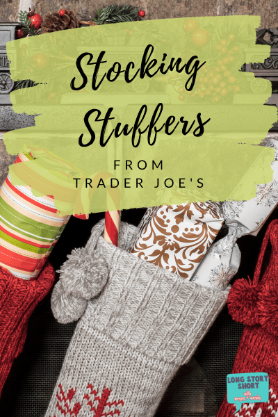 Stocking Stuffers from Trader Joe's