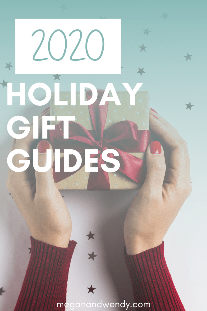 Megan and Wendy's 2020 Holiday Gift Guides! Shop from your favorite retailers and small businesses! Gift ideas for everyone on your Christmas gift list including teens, Grandparents, stocking stuffers, and more! #giftideas2020