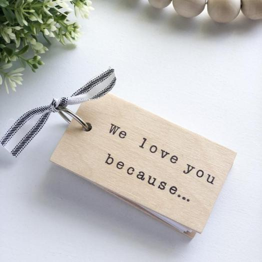 I love You because - Gift Guide for Grandparents