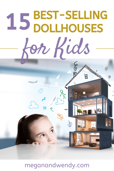 Imaginary play is so important for kids. Dollhouses are a great way to spark imagination in kids. We're sharing our favorite and highly-rated dollhouses for kids starting at age 3. #dollhouses