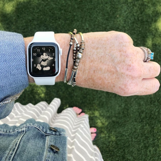 We're not suggesting you walk 10,000 steps today. We're saying you should charge your Apple Watch or Fit Bit in the event you want to measure your steps.