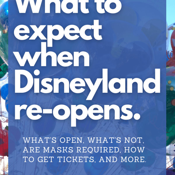 It's been over a year since Disneyland closed its gates to guests. What will the theme park look like once it re-opens this April 2021? We're sharing everything we know about park reservations, ticket prices, what's open right now, what is likely to remain closed, pros and cons. #Disneyland