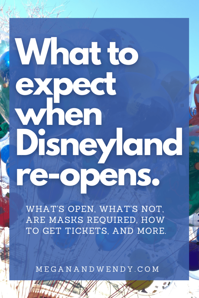 When and how will Disneyland reopen this April 2021? Read what to expect including park reservations, ticket prices, mask requirements, what's going to be open and what is likely to be closed. #Disneyland