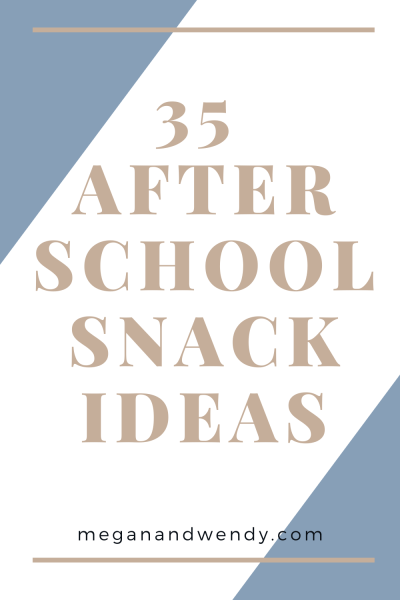 Wondering what you're going to feed your hungry kids when they get home from school today? We've got a pretty great list of 35+ items that will quiet that hangry beast after a long day of school.