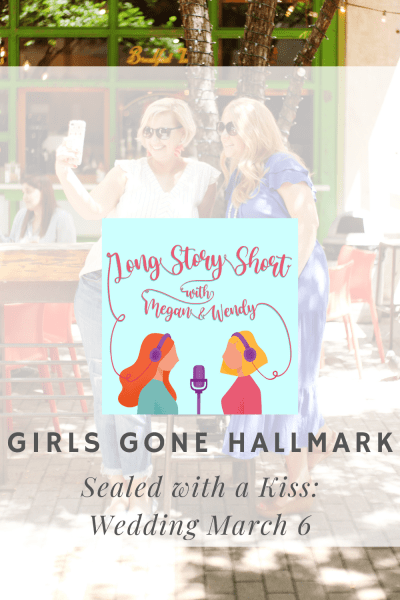 """NEW POD EP: Megan and Wendy are back with another bonus GIRLS GONE HALLMARK episode. Listen in as they rate and review """"Sealed with a Kiss: Wedding March 6"""" starring """"Melrose Place"""" alums Jack Wagner and Josie Bissett."""
