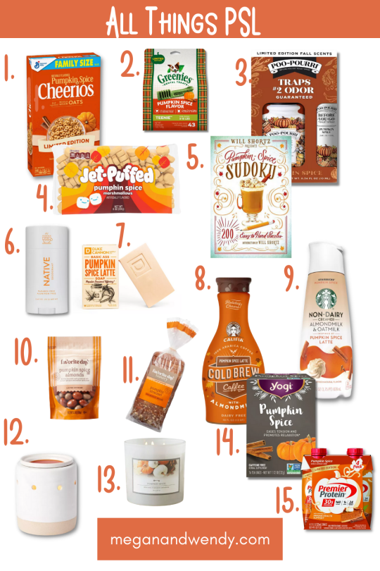 All Things PSL - 15 Pumpkin Spice Latte Products to keep you happy this fall