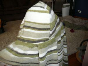 Hooded Towel Back