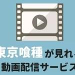 東京喰種(トーキョーグール)が見れる動画配信サービス