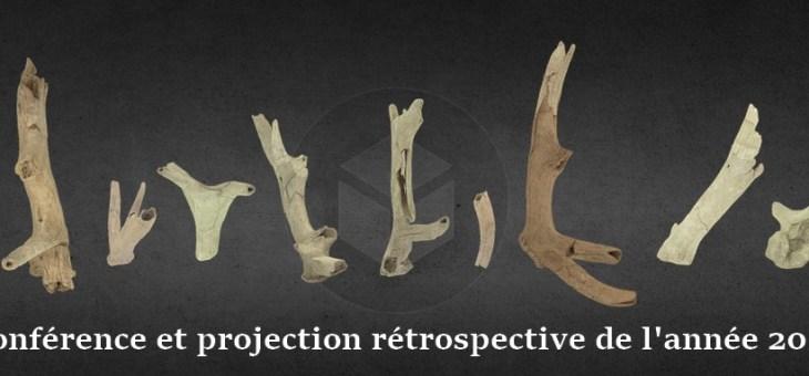 """Conférence et projection de la """"rétrospective des fouilles archéologiques de 2018"""""""