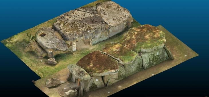 Numérisation des dolmens angevins: qui a la plus grosse ?