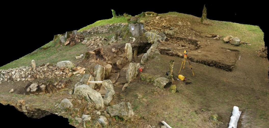 fouilles à Roquefort en Gironde