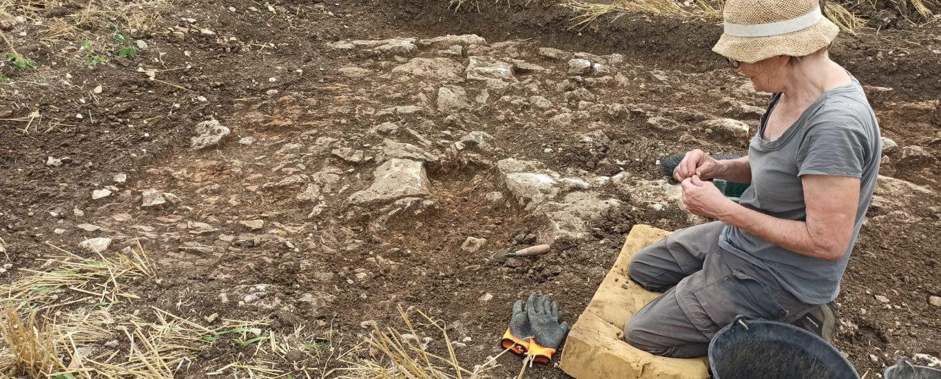campagne de fouilles charmé 2021 Moussac