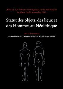 couverture acte colloque internéo statut des objets des lieux et des hommes au néolithique