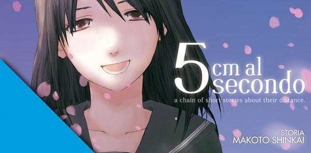 Recensione – 5 cm al secondo, il manga tratto dal film di Makoto Shinkai