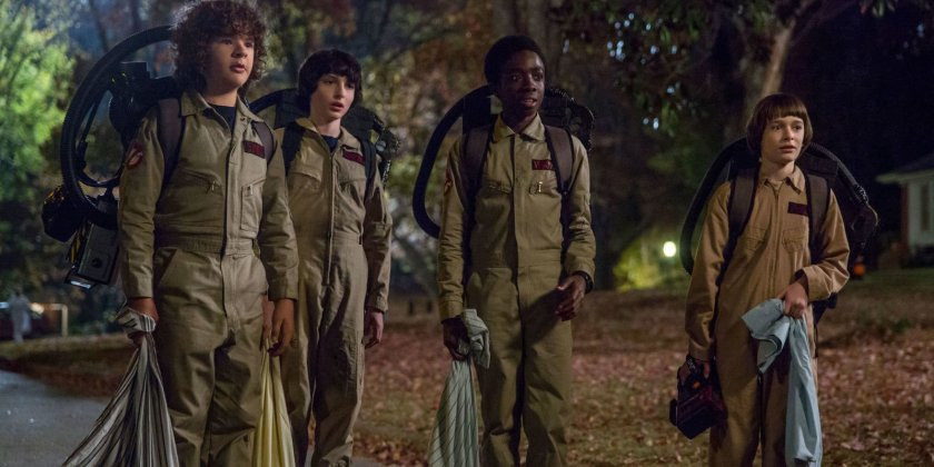 stranger things ghostnusters