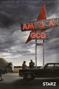 American Gods è una serie del 2017 in 8 puntate da un'ora, disponibile in italia sulla piattaforma Amazon Prime Video.