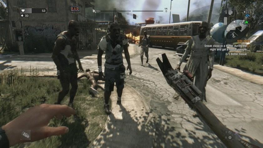 videogiochi con gli zombie dying light