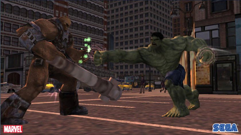 incredibile hulk ps2