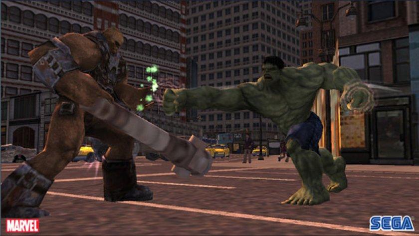 incredibile hulk ps2