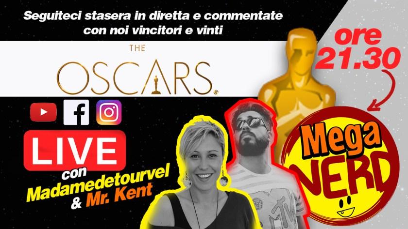 MegaNerd Live speciale Oscar 2019