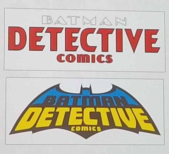 Batman detective comics new logo