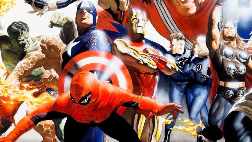 comic-artist-alex-ross-breaks-down-the-big-differences-between-marvel-and-dc-characters-social