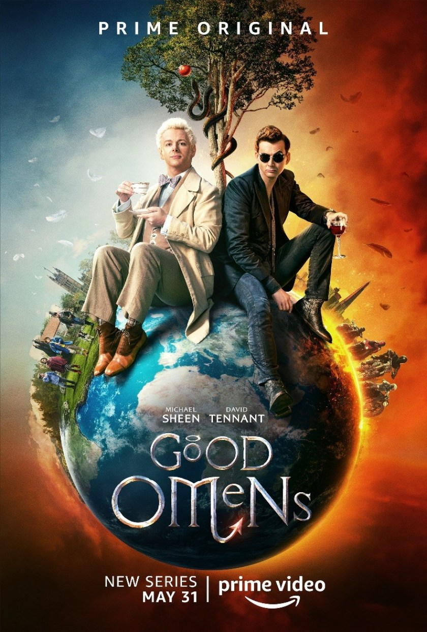 good omens poster prime video